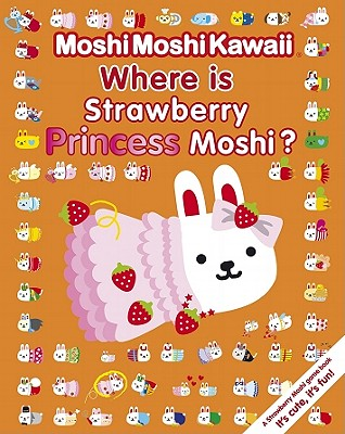 Where Is Strawberry Princess Moshi? Cover