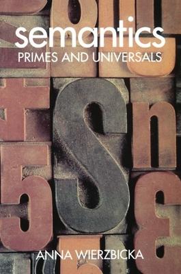 Semantics ' Primes and Universals ' Cover