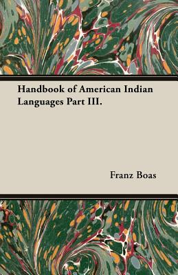 Handbook of American Indian Languages Part III. Cover Image