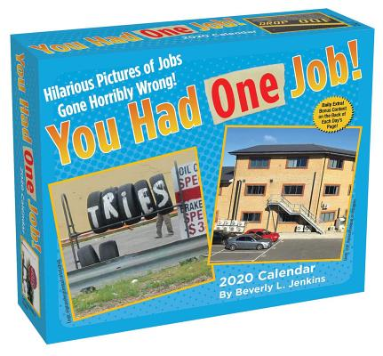 You Had One Job 2020 Day-to-Day Calendar Cover Image