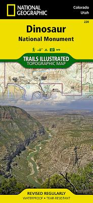 Dinosaur National Monument (National Geographic Trails Illustrated Map #220) Cover Image