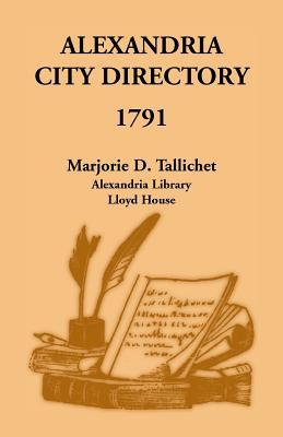 Alexandria City Directory, 1791 Cover Image