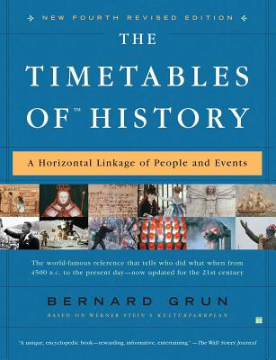 The Timetables of History: A Horizontal Linkage of People and Events Cover Image