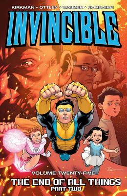 Cover for Invincible Volume 25