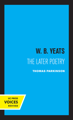 Cover for W. B. Yeats