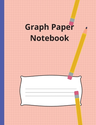 Graph Paper Notebook: Large Simple Graph Paper Notebook, 100 Quad ruled 5x5 pages 8.5 x 11 / Grid Paper Notebook for Math and Science Studen (Notebooks) Cover Image
