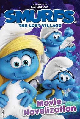 Cover for Smurfs The Lost Village Movie Novelization (Smurfs Movie)