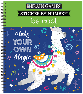 Brain Games - Sticker by Number: Be Cool Cover Image