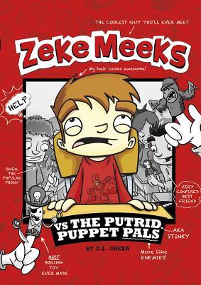 Zeke Meeks Vs the Putrid Puppet Pals Cover