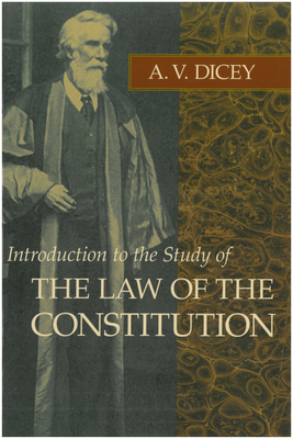 Introduction to the Study of the Law of the Constitution Cover Image