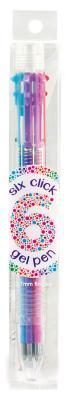 Six Click Gel Pen - Basic Cover Image