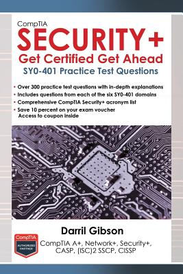 Comptia Security+ Get Certified Get Ahead: Sy0-401 Practice Test Questions Cover Image