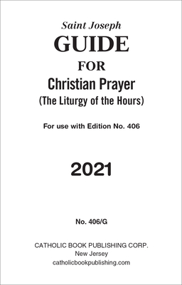 St. Joseph Guide for Christian Prayer for 2021 Cover Image
