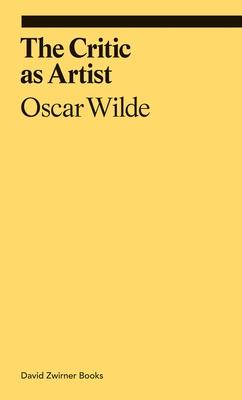 The Critic as Artist (ekphrasis) Cover Image