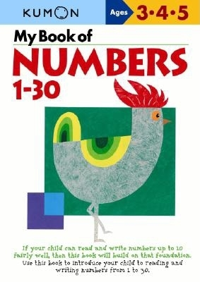 My Book of Numbers, 1-30 (Kumon's Practice Books) Cover Image