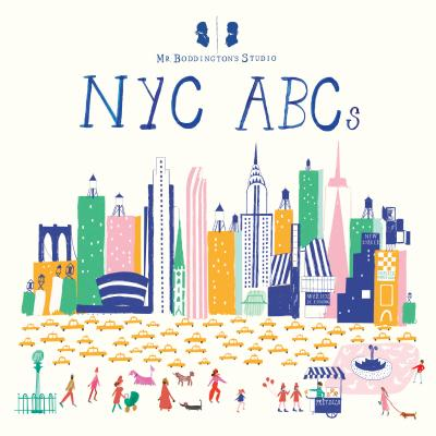 Mr. Boddington's Studio: NYC ABCs Cover Image