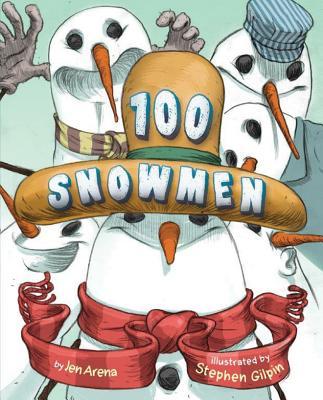 Cover for 100 Snowmen