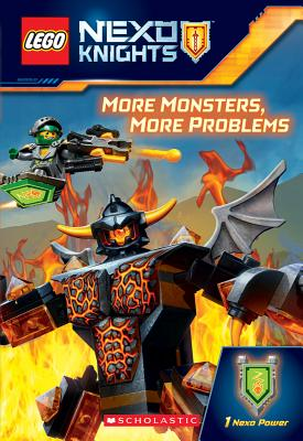 More Monsters, More Problems (LEGO NEXO Knights Chapter Book) Cover Image