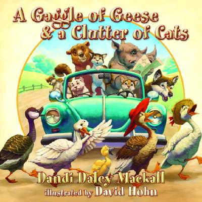 A Gaggle of Geese & a Clutter of Cats Cover
