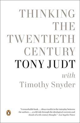 Thinking the Twentieth Century Cover Image