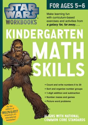 Star Wars Workbook: Kindergarten Math Skills (Star Wars Workbooks) Cover Image