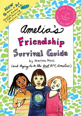 Amelia's Friendship Survival Guide Cover