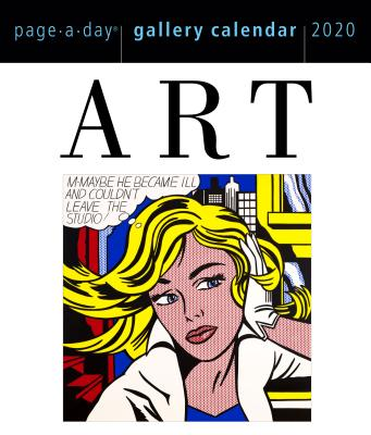 Art Page-A-Day Gallery Calendar 2020 Cover Image