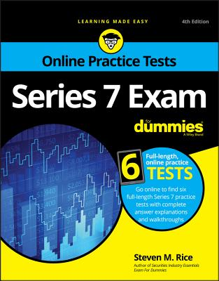 Series 7 Exam for Dummies with Online Practice Tests Cover Image