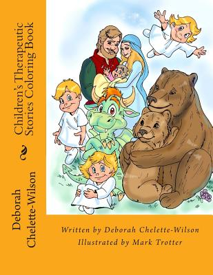 Children's Therapeutic Stories Coloring Book Cover Image