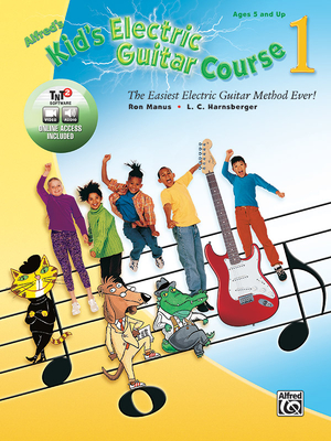 Alfred's Kid's Electric Guitar Course 1: The Easiest Electric Guitar Method Ever!, Book, DVD & Online Audio, Video & Software Cover Image