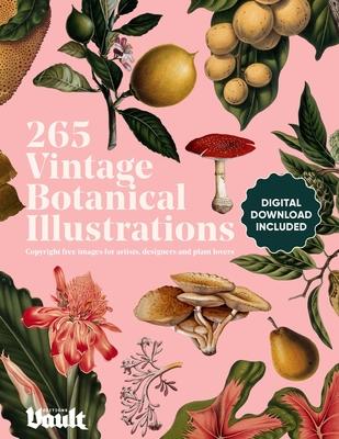 Vintage Botanical Illustration: Copyright-Free Images for Artists, Designers and Plant Lovers Cover Image