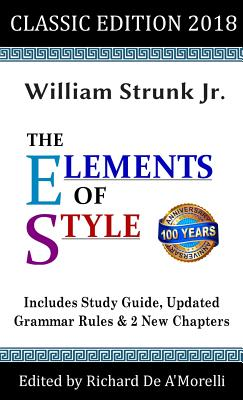 The Elements of Style: Classic Edition (2018) Cover Image