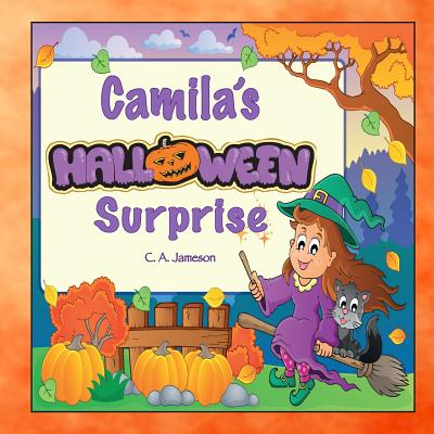 Camila's Halloween Surprise (Personalized Books for Children) Cover Image