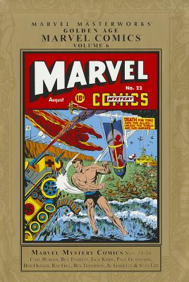 Golden Age Marvel Comics, Volume 6 Cover