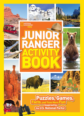 Cover for Junior Ranger Activity Book