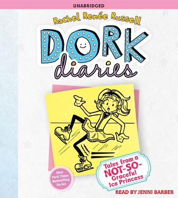 Dork Diaries 4: Tales from a Not-So-Graceful Ice Princess Cover Image