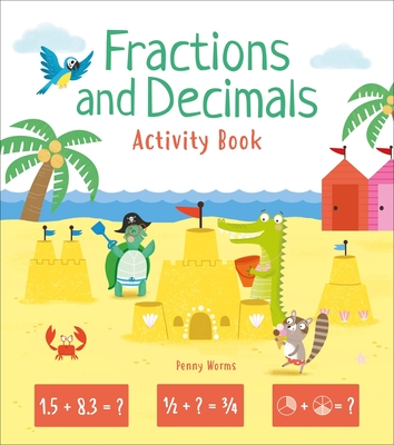 Fractions and Decimals Activity Book Cover Image