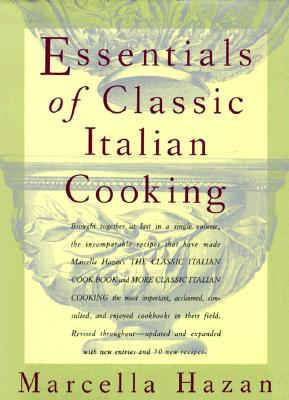 Essentials of Classic Italian Cooking Cover Image