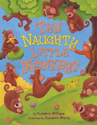 Ten Naughty Little Monkeys Cover
