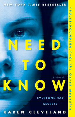 Need to Know: A Novel Cover Image