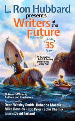 L. Ron Hubbard Presents Writers of the Future Volume 35: Bestselling Anthology of Award-Winning Science Fiction and Fantasy Short Stories Cover Image