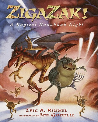 Zigazak!: A Magical Hanukkah Night Cover Image