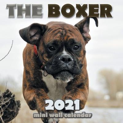 The Boxer 2021 Mini Wall Calendar Cover Image