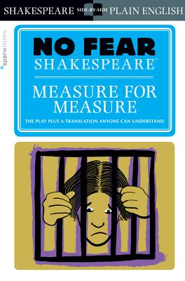 Measure for Measure (No Fear Shakespeare), 22 (Sparknotes No Fear Shakespeare #22) Cover Image