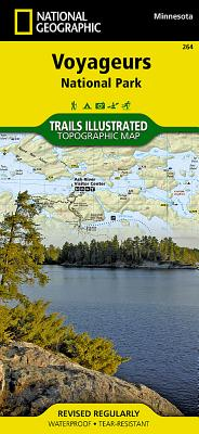 Voyageurs National Park (National Geographic Trails Illustrated Map #264) Cover Image