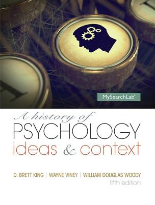 A History of Psychology: Ideas and Context Cover Image