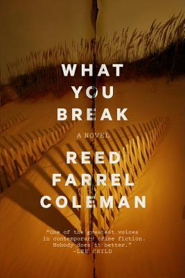 What You Break (A Gus Murphy Novel #2) Cover Image