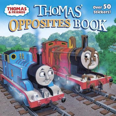 Thomas' Opposites Book (Thomas & Friends) (Pictureback(R)) Cover Image