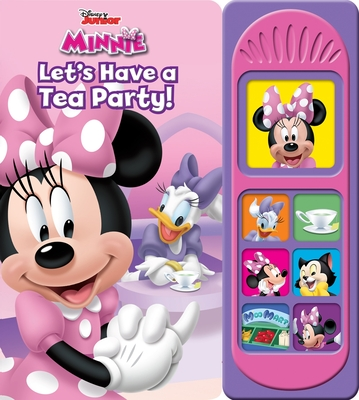 Disney Minnie Mouse: Let's Have a Tea Party! (Play-A-Song) Cover Image
