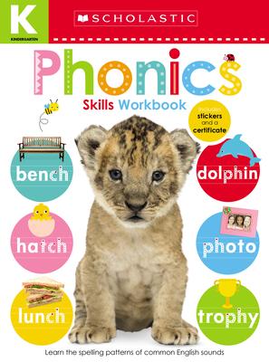 Phonics Kindergarten Workbook: Scholastic Early Learners (Skills Workbook) Cover Image